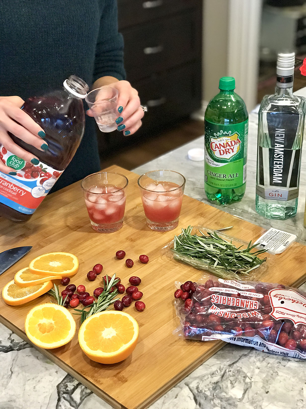 holiday cocktail step 3