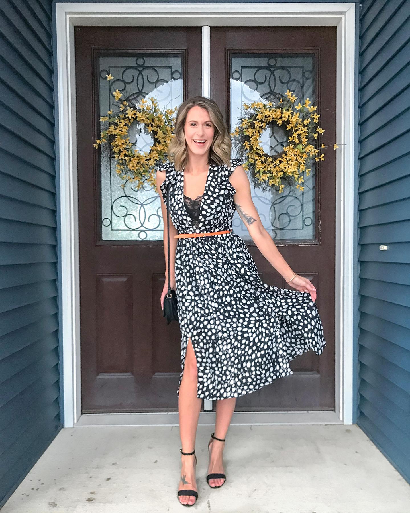 Polka Dot Dress + My Favorites