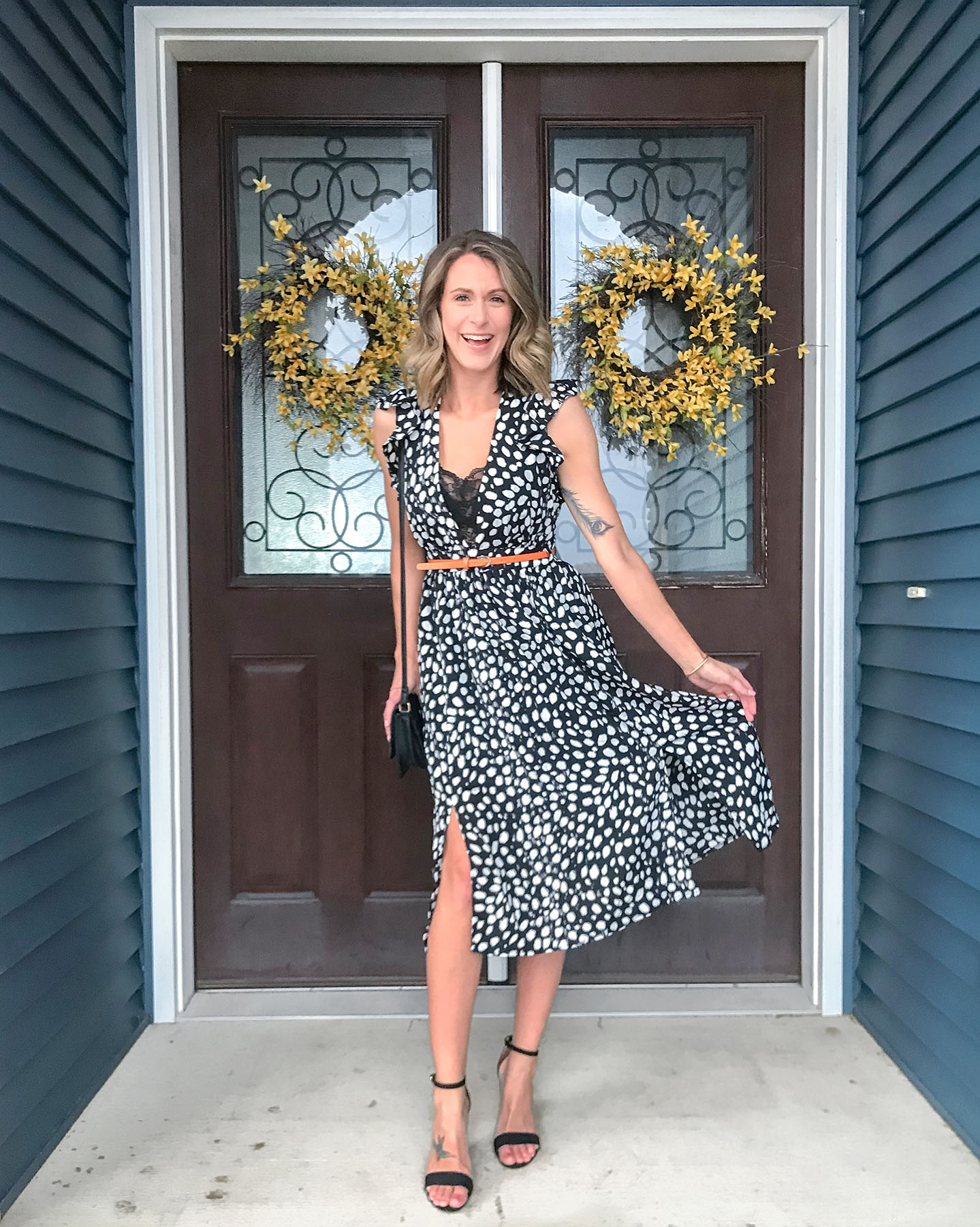 Polka Dot Dress + My Favorites