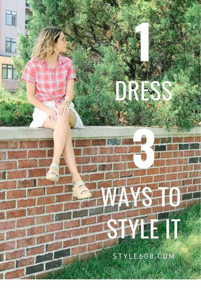 1 dress 3 ways