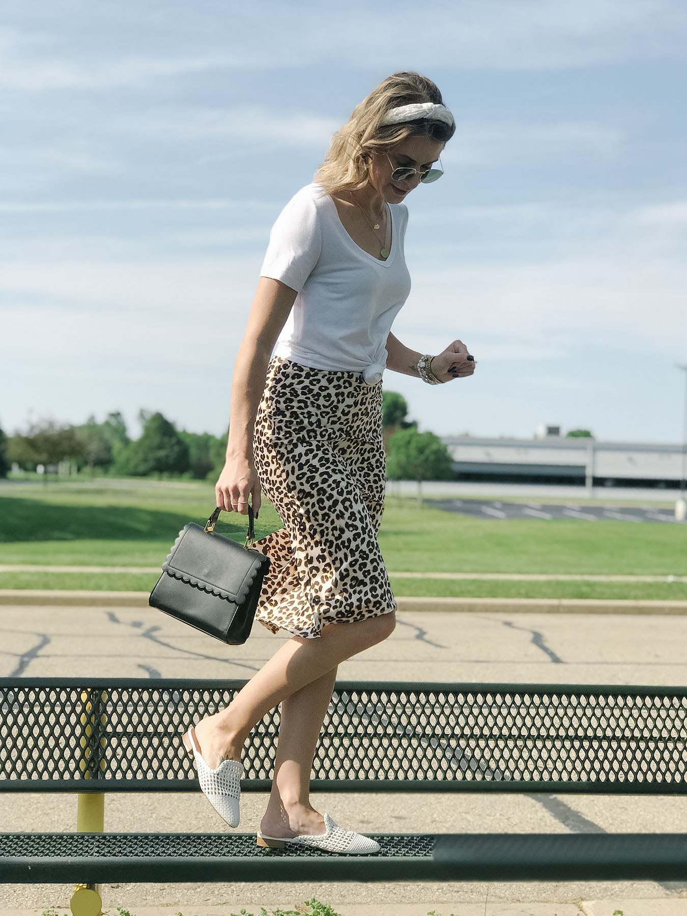 Leopard Skirt Style