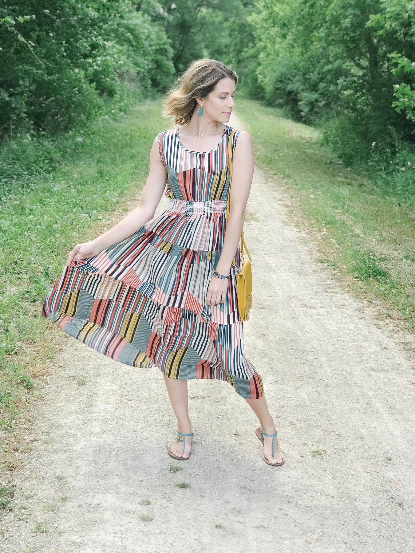 Boho dress style
