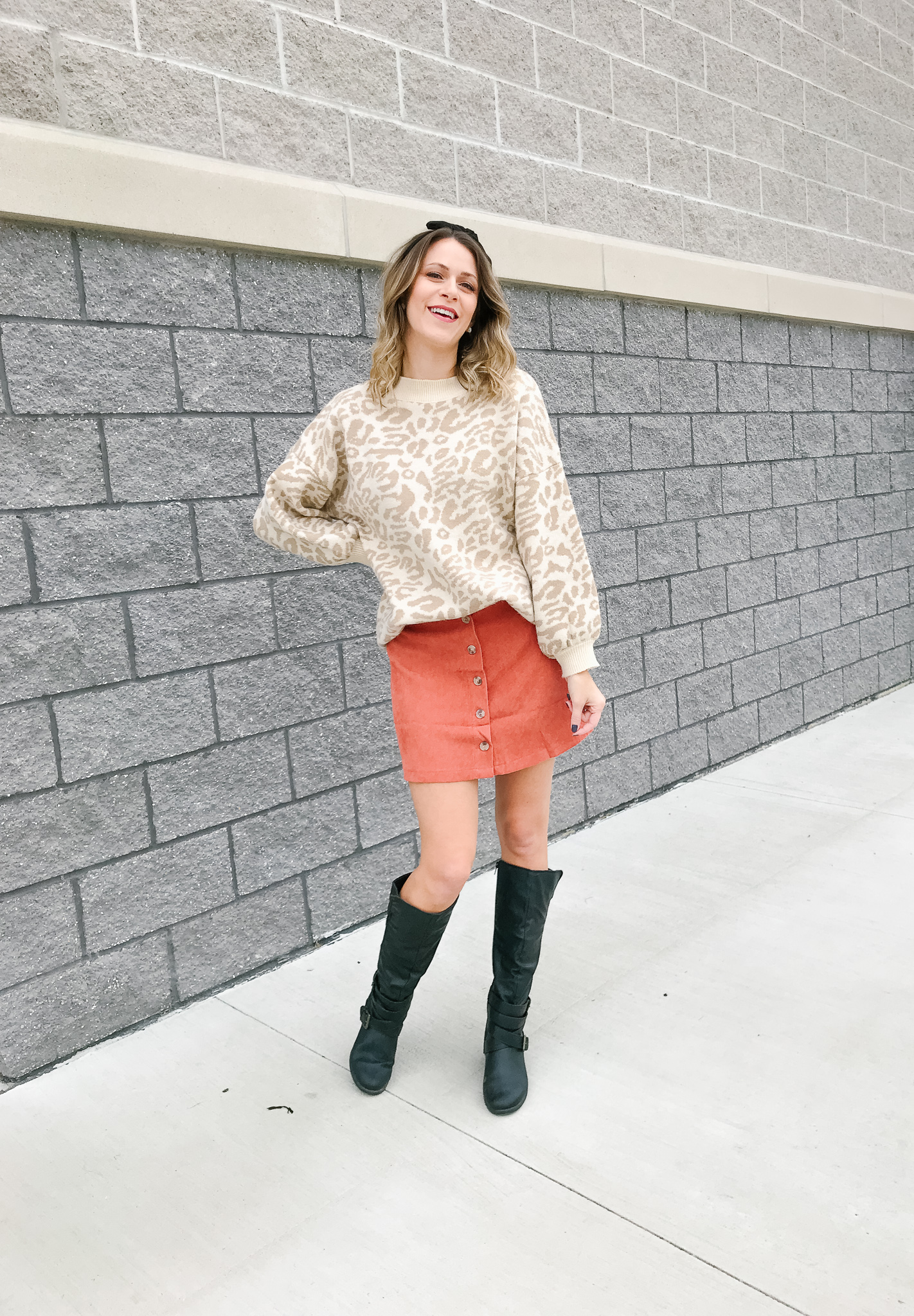 2 Ways To Style A Leopard Print Sweater