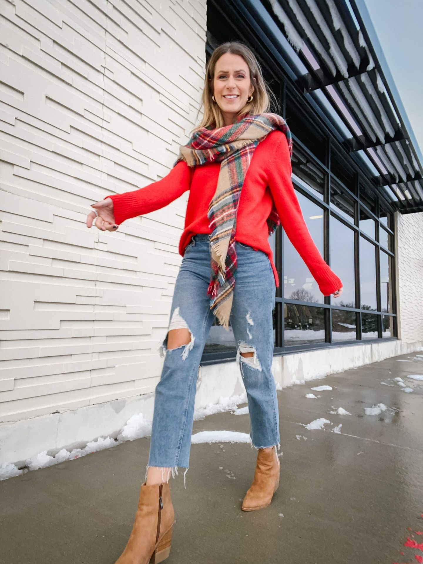 5 Cold Weather Outfits With Scarves
