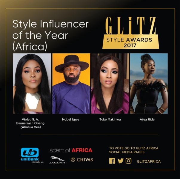Style Influence of the year - Nominees