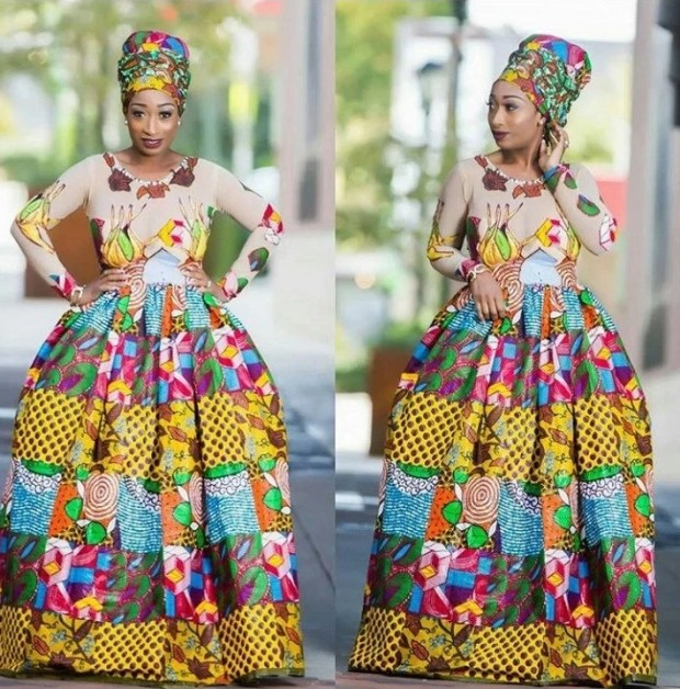 The Ball Gown_Ankara Styles