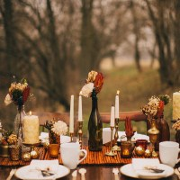 Pinterest Picks - Simple Thanksgiving Table Setting Ideas