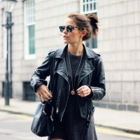 10 T-Shirt Dresses to Wear with a Leather Jacket
