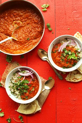 Spicy Red Lentil Curry | Minimalist Baker