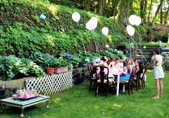 9 year old Tea party celebration 047