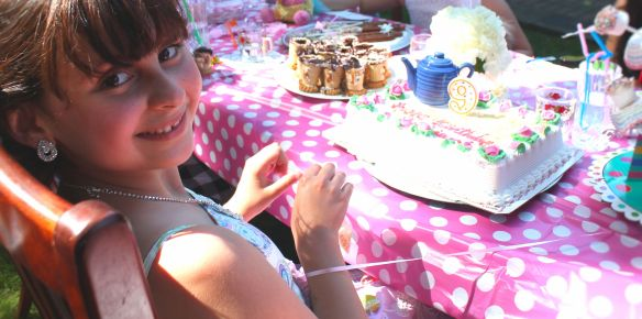 9 year old Tea party celebration 158