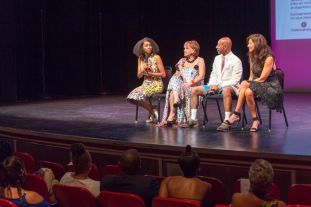 Designer Talkback (Jazmin Jackson, Lana Neumeyer, and Diana Mistetic) Lamont Jones, Facilitator