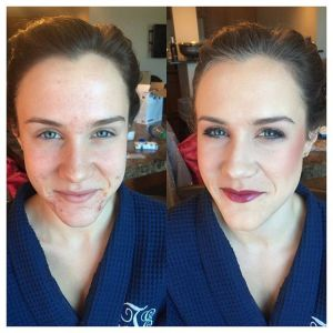 airbrush makeup before after