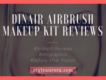 Dinair airbrush makeup reviews