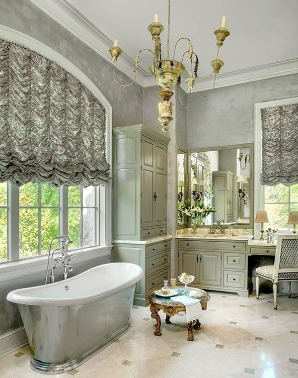 15 creative bathroom curtain ideas for