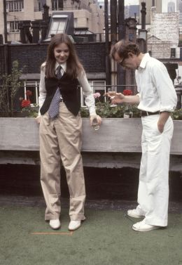 Diane Keaton as Annie Hall wearing the quintessence of the tomboy look. Annie Hall, Woody Allen (1977)