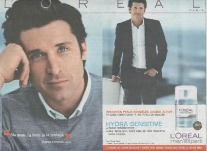 Patrick Dempsey for L'Oreal Paris