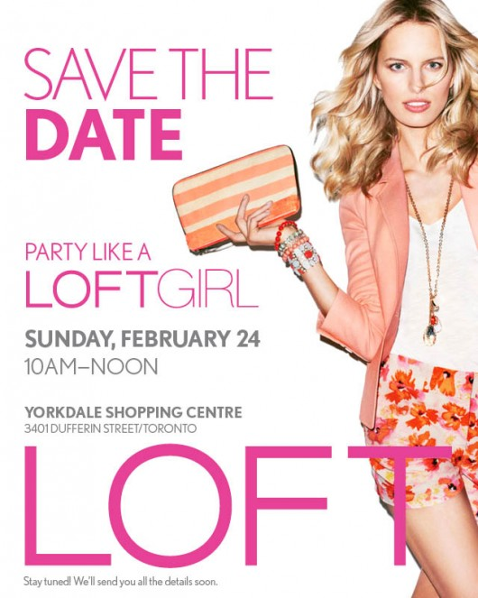 LOFTGirls_Yorkdale_Event_SAVE THE DATE