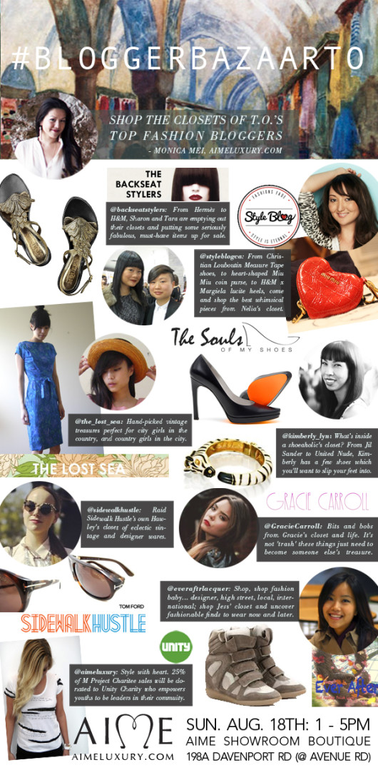 Aime Presents The Blogger Bazaar