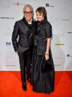 Canadian-Arts-Fashion-Awards-2014-Joe-Mimran-and-Kimberley-Newport-Mimran