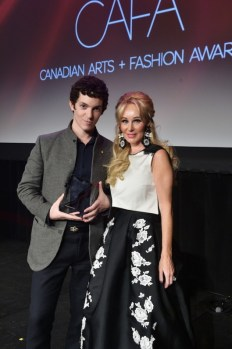 Canadian-Arts-Fashion-Awards-2014-Womenswear-Designer-of-the-Year-Jeremy-Laing-and-Suzanne-Rogers