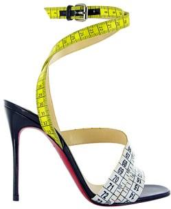 Christian Louboutin Police Sandals Sz 39.5(Brand New) - $500