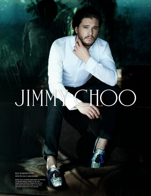 Kit Harington for Jimmy Choo Fall Winter 2014 - FOXLEY shoes