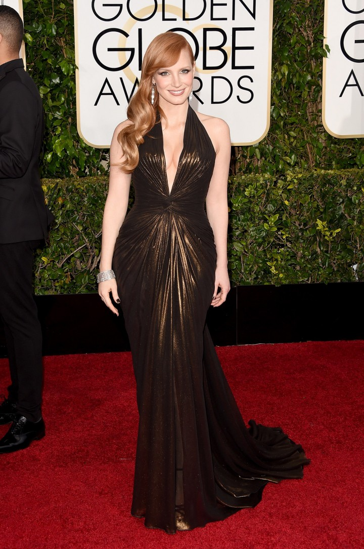Golden-Globes-2015-Best-Dressed-Jessica-Chastain