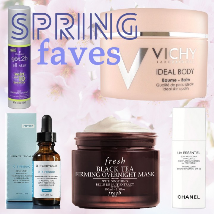 spring 2015 beauty favourites - got2b - skinceuticals - vichy - chanel - fresh