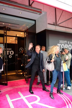 _Bryan Cranston exiting Variety Studio at Holt Renfrew