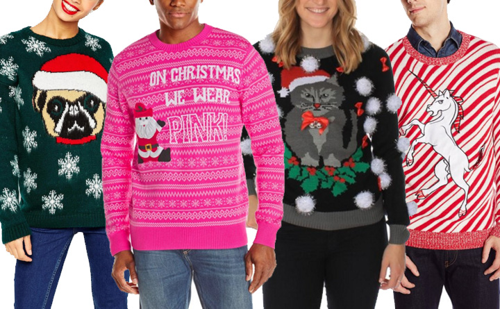 best-ugly-christmas-sweaters-2015-cat-unicorn-dog-mean-girls