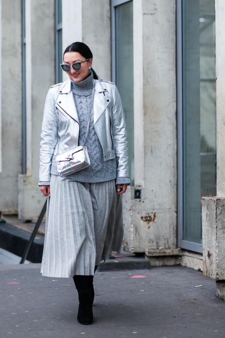 silver-leather-jacket-midi-pleated-skirt-oak-fort-3