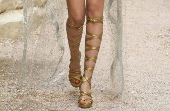 chanel-resort-2018-greece-gladiator-shoes