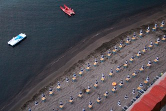 Leonelli Beach from above