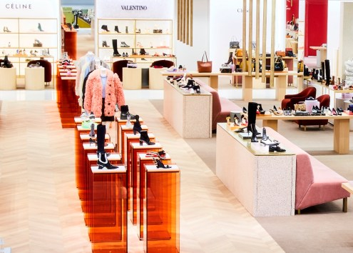 Holt Renfrew Bloor Women's Footwear Hall