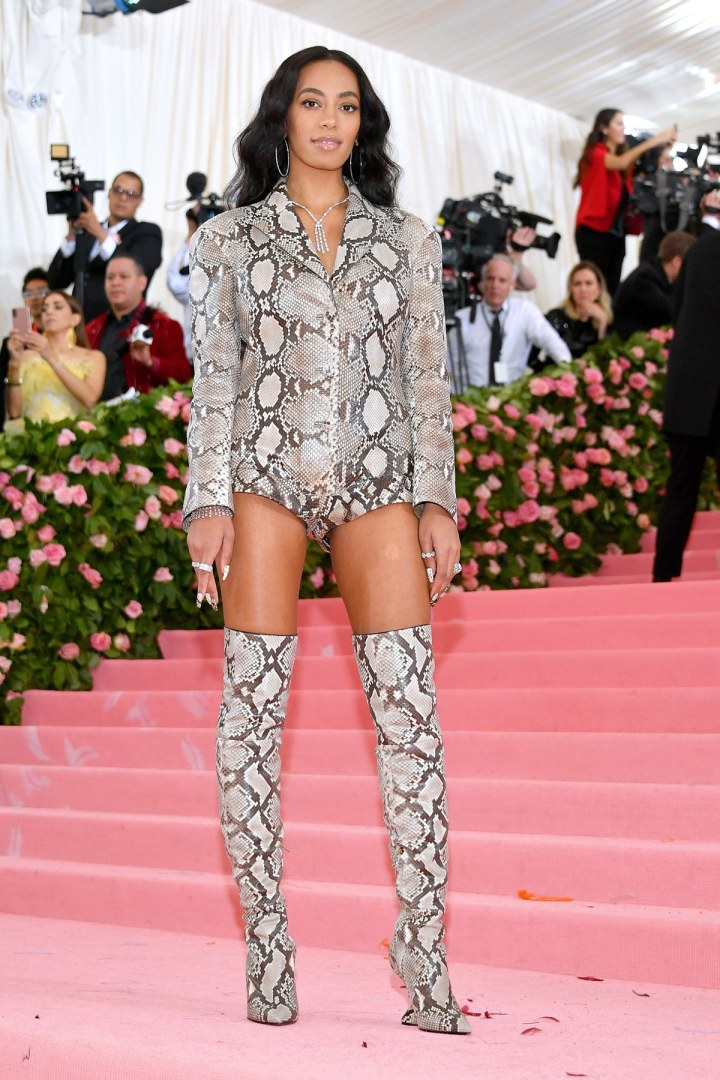Image result for solange MET GALA 2019