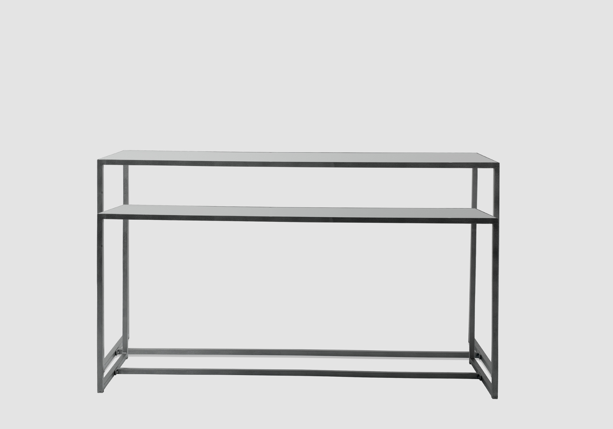 Frame Console Table Gray