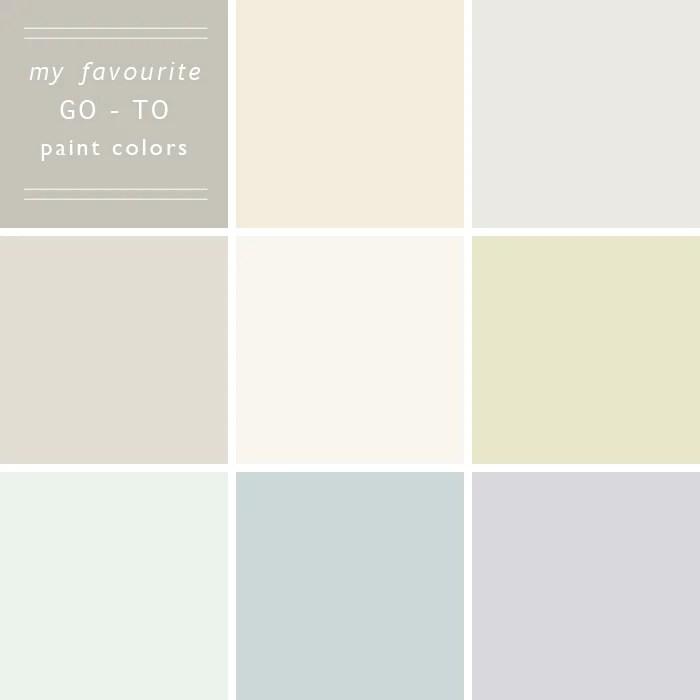 Favourite Neutral Paints