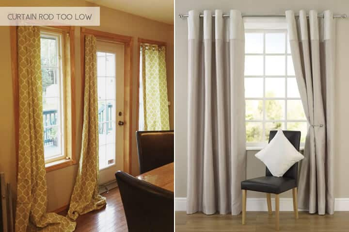 Emily Henderson_Design Mistakes_Curtains Rod Too Low