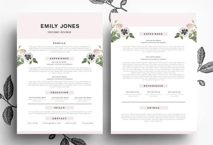 Beautiful_Feminine_Resume
