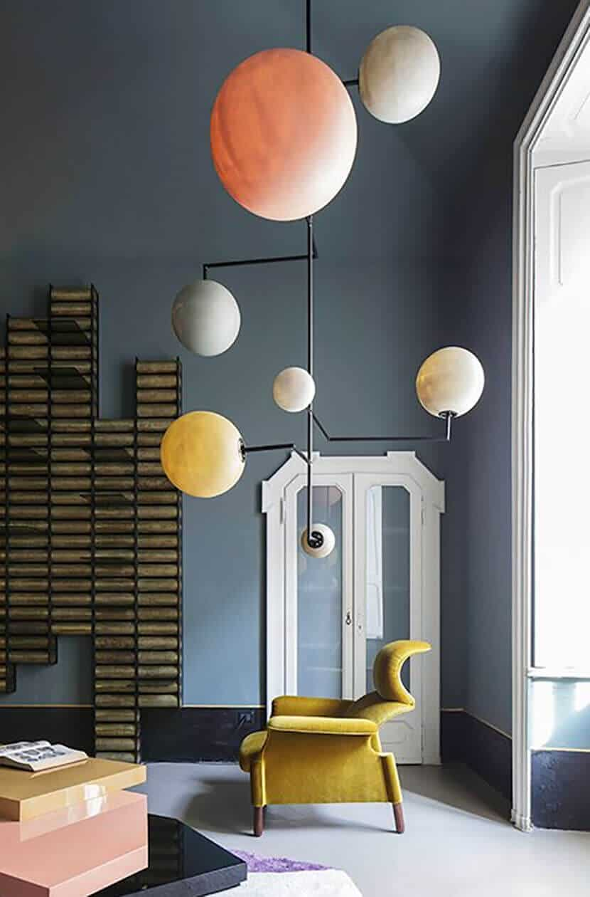 modern yellow interior design emily henderson