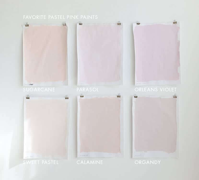 Favorite Pastel Pink Paint
