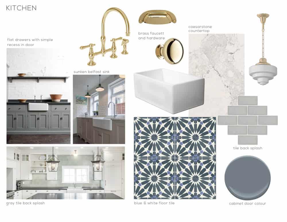 graphic cement tile