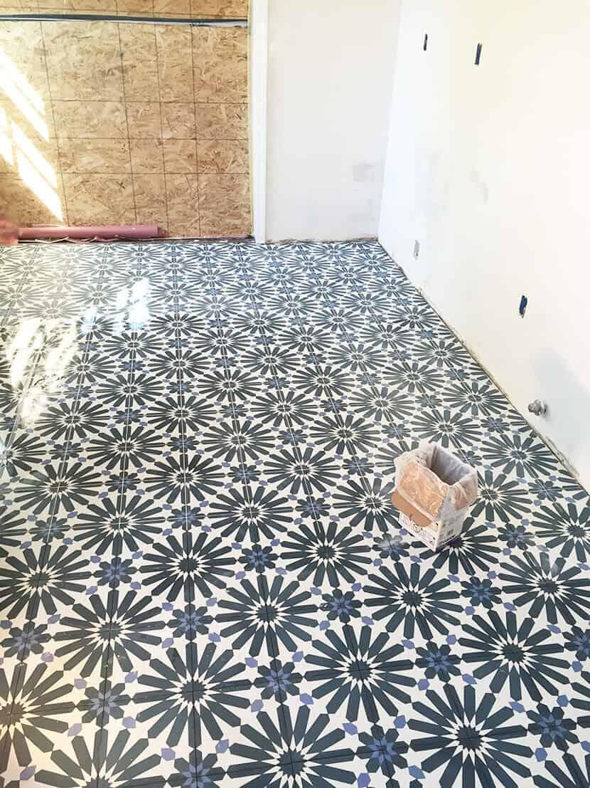 Nicole Lorey Emily Henderson Design Kitchen Flooring
