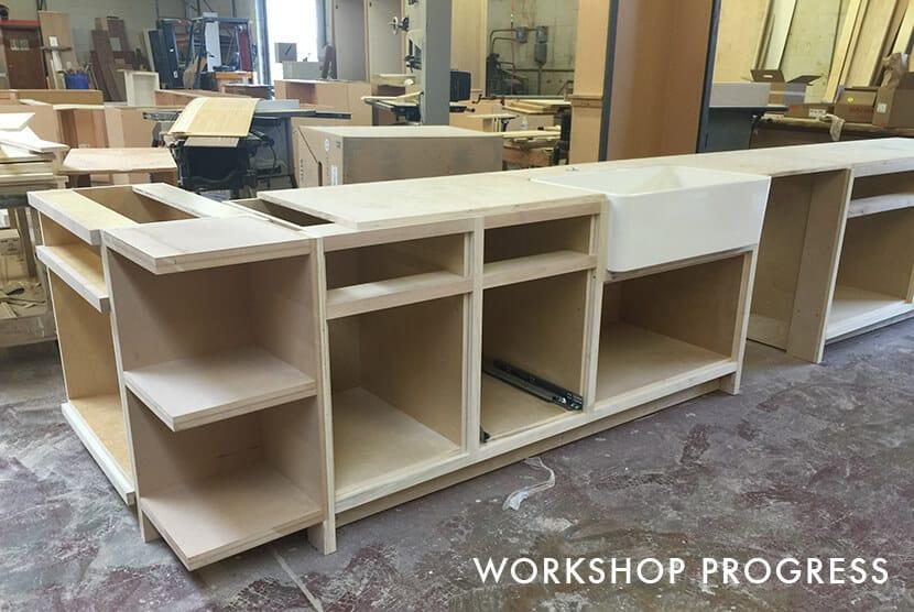 Nicole Lorey Emily Henderson Design Kitchen Workshop Progress