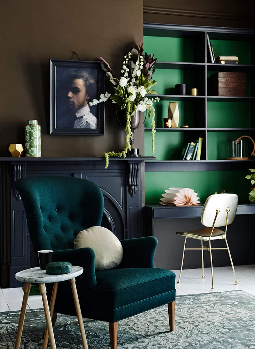 Color Trend Emerald and Teal Room Decor 10