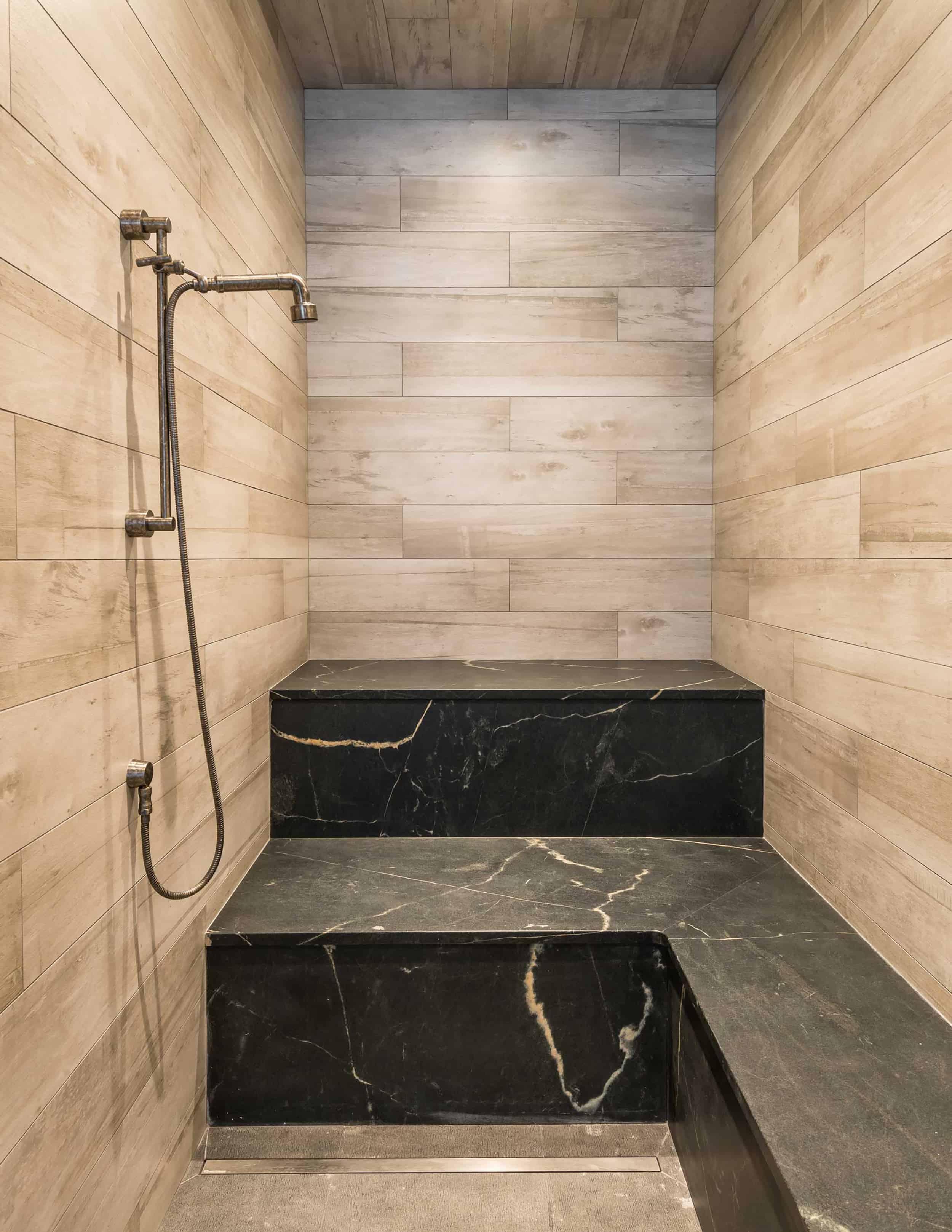 wood inspired tile