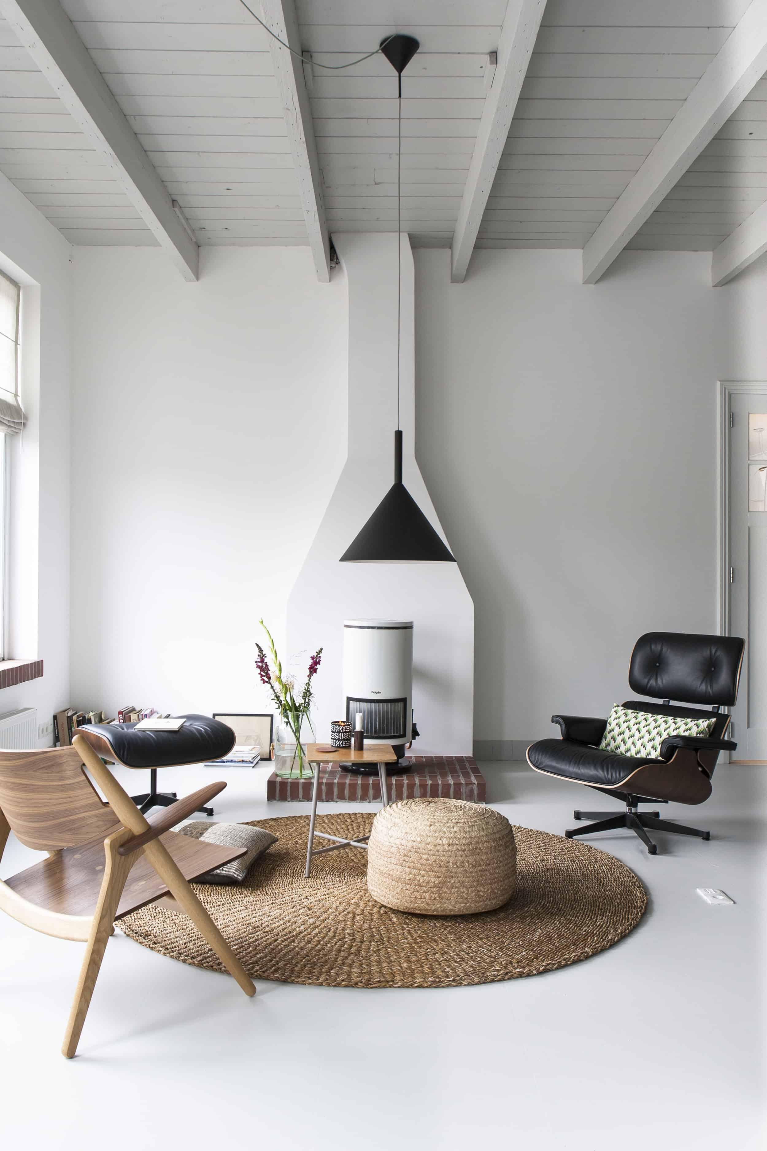scandi modern living room