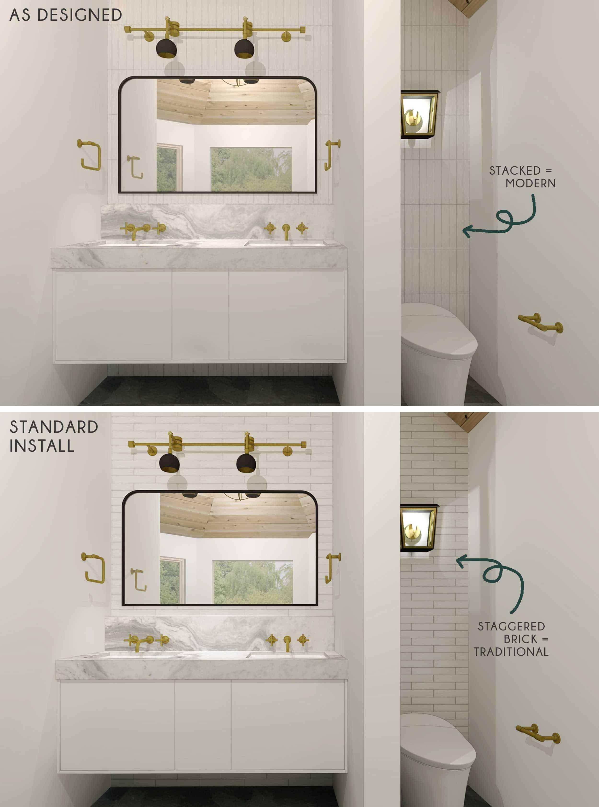 Side By Side Master Bath