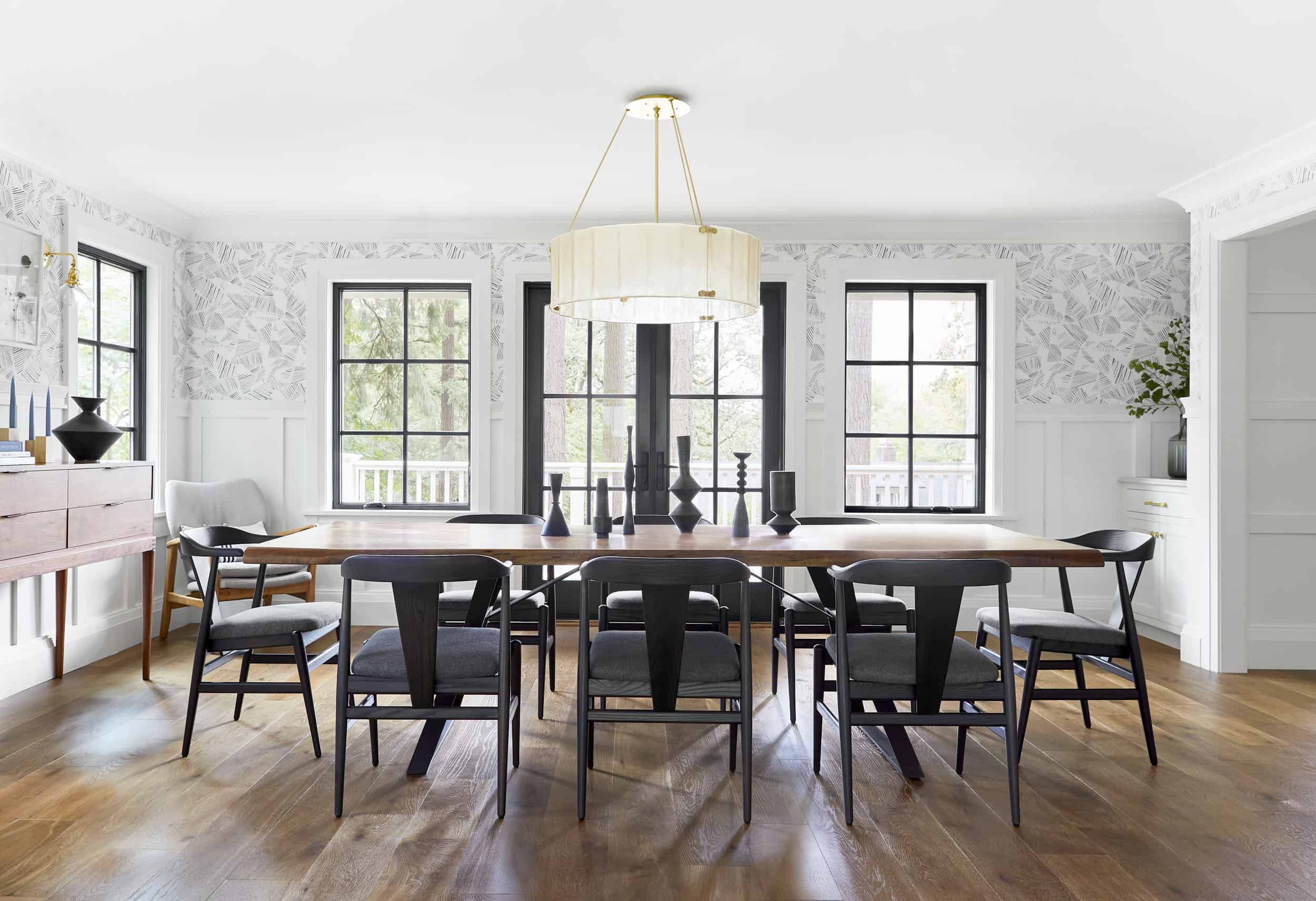 Emily Henderson Portland Traditional Dining Room3